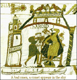 Bayeux Tapestry Halley's Comet