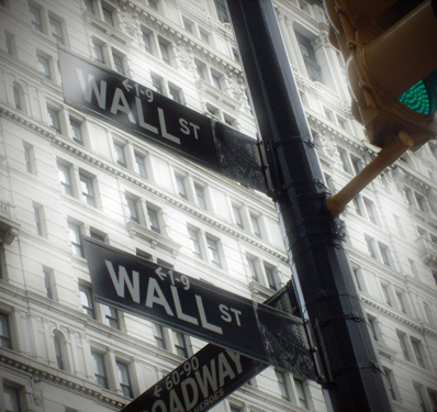 Wall Street Signs